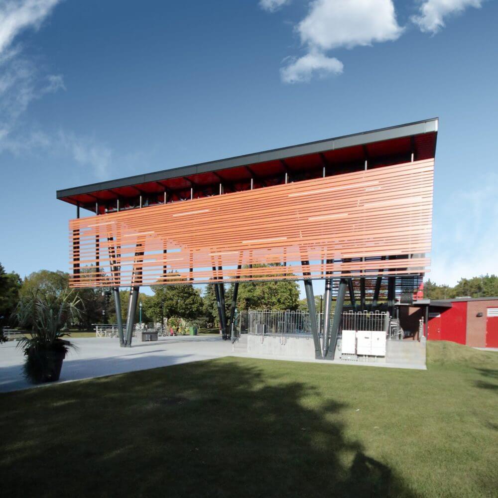 Photo du projet  Scène Parc Wilfrid Bastien- Saint-Léonard